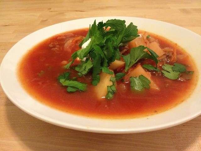 Recettes de bortsch 2 for Cuisine ukrainienne