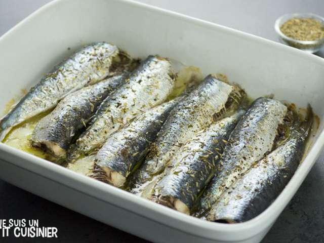 Recettes de Sardines et Cuisine au Four on