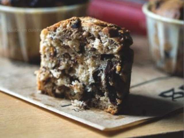 Recettes de muffins aux p pites de chocolat et cuisine sans oeuf - Recette de cuisine sans oeuf ...