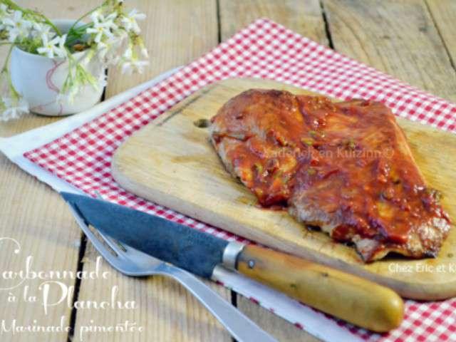 Recettes de carbonnade et porc - Carbonade de porc grillee ...