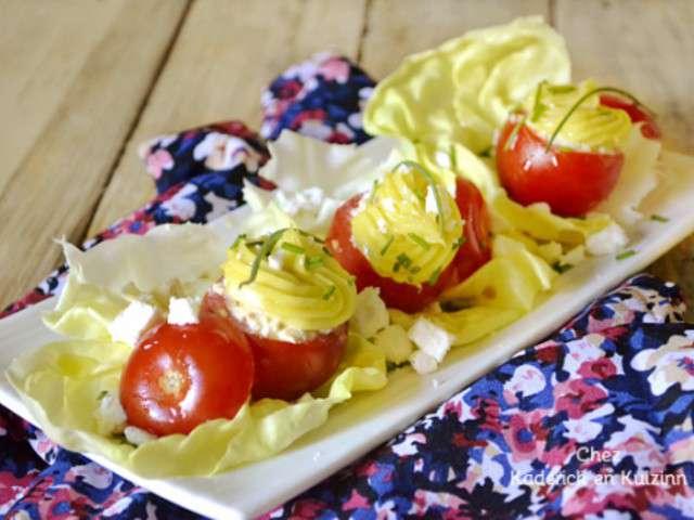 Recettes de tomates farcies et entr es for Entree facile et rapide