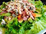 Salade avocat, bacon, roquefort & patate douce - Kamika