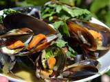 Moules au curry au cookeo