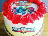 Layer cake  power rangers