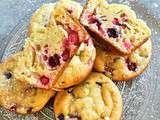 Muffin Mascarpone, Fruits rouges