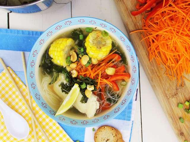 Recettes de soupe de kedny cuisine - Cuisine soupe de poisson ...