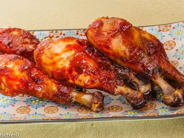 recettes de pilons de poulet et barbecue. Black Bedroom Furniture Sets. Home Design Ideas