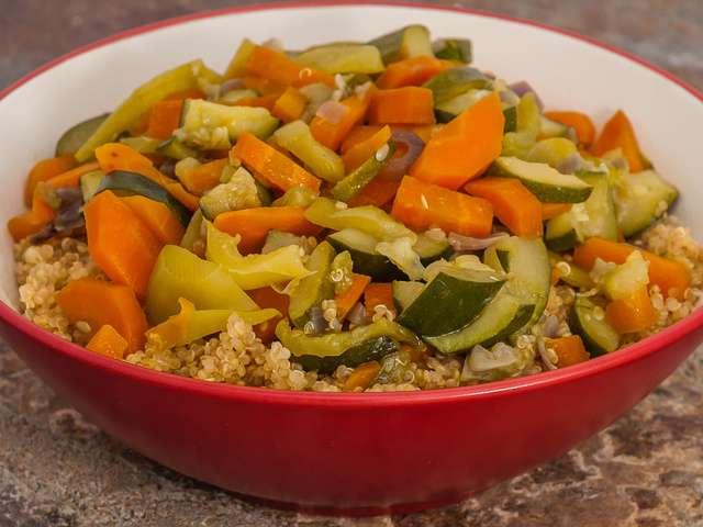 Recettes de Quinoa et Légumes