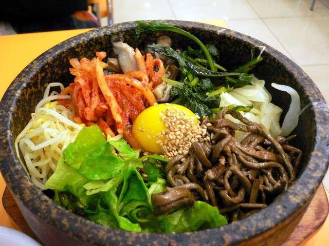Recettes de bibimbap de kimshii cuisine cor enne for Cuisine coreenne