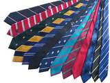 Customized ties for professionalism and identity