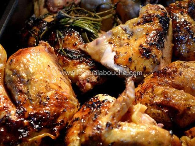 recettes de poulet r ti de l 39 eau la bouche. Black Bedroom Furniture Sets. Home Design Ideas