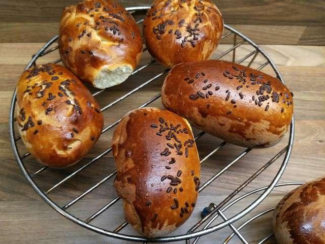 Recettes de pain au lait et lait - Recette de pain au lait ...