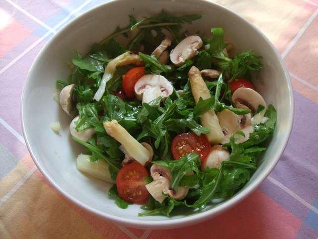Recettes de Salade aux champignons