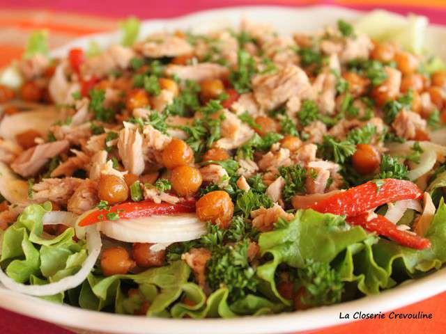 Recettes de Salade composée et Thon