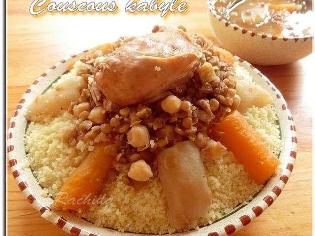 Recettes de couscous kabyle for Recette kabyle tikourbabine