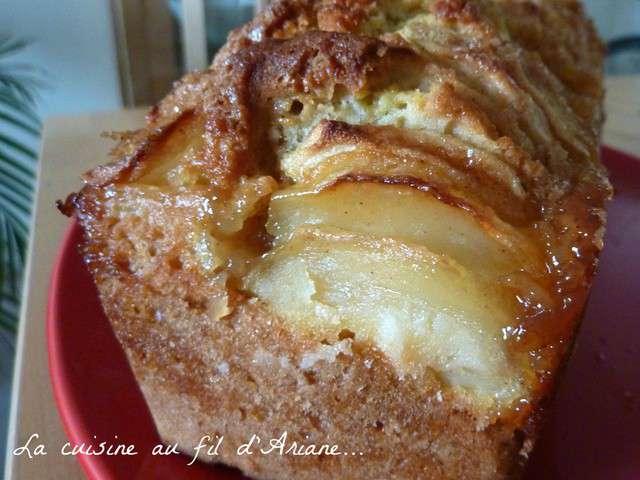 recettes de cake aux pommes de la cuisine au fil d 39 ariane. Black Bedroom Furniture Sets. Home Design Ideas