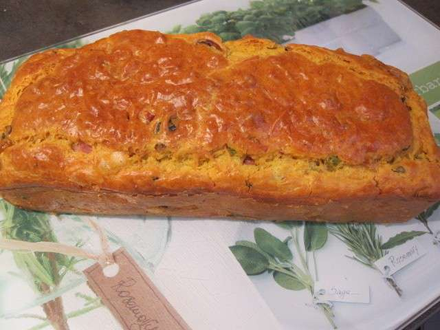 Recette Cake Lardons Olives Thermomix