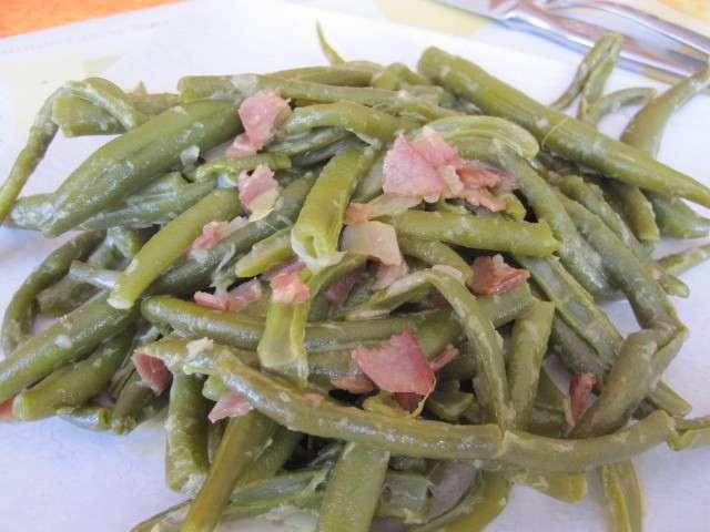 Recettes de haricots verts de la cuisine au village - Comment congeler les haricots verts du jardin ...