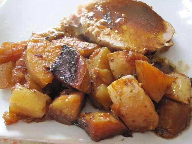 Recettes de porc de la cuisine au village - Cuisiner une rouelle de porc en cocotte minute ...