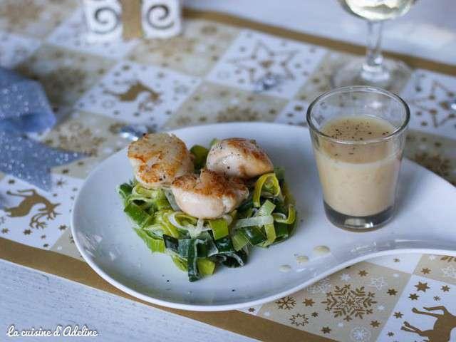 Recettes de noix de saint jacques de la cuisine d 39 adeline - Cuisine noix de saint jacques ...