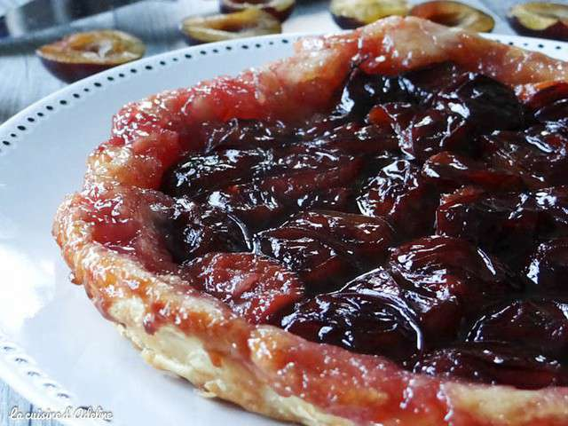 recettes de tarte tatin et prunes. Black Bedroom Furniture Sets. Home Design Ideas