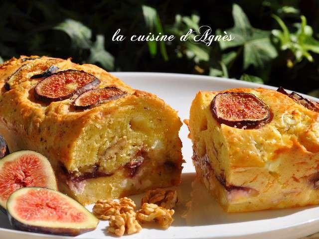 Cake Chorizo Noix Emmental