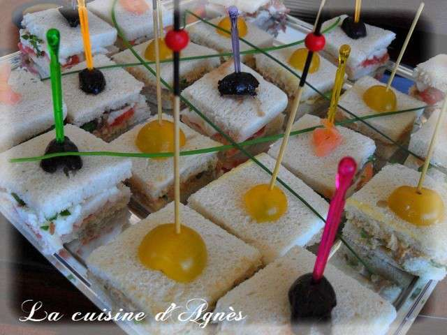 les meilleures recettes de toasts - Canapes Aperitif Originaux