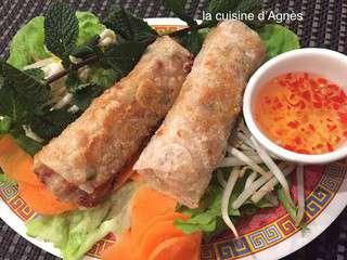 rouleaux de printemps chinois porc crevettes chn jun - Cuisine Asiatique Chinois