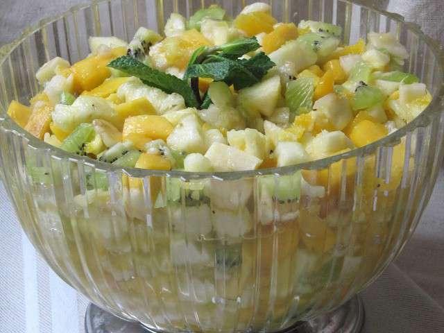 Recettes de salade de fruits 5 - Salade d hiver variete ...