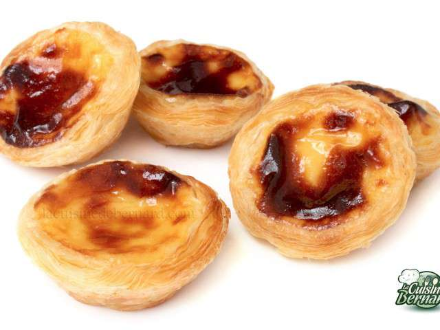 Recettes de pasteis de nata de la cuisine de bernard for Cuisine de bernard