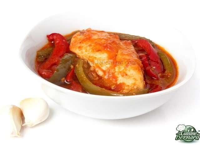 Recettes de poulet basquaise de la cuisine de bernard for Cuisine bernard