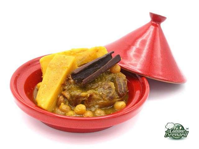 Recettes de tajine de veau - La cuisine de bernard fondant ...