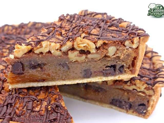 Recettes de tarte aux noix de la cuisine de bernard - La cuisine de bernard tarte au citron ...