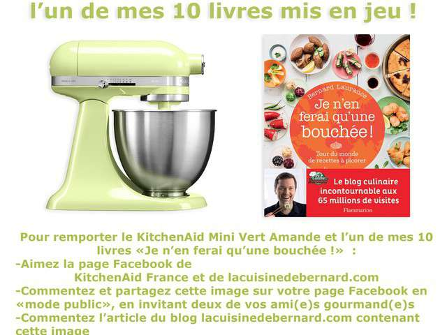 Recettes de kitchenaid - Livre de cuisine kitchenaid ...