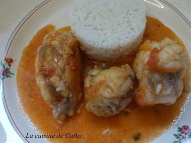 Recettes de lotte de la cuisine de cathy - Lotte a l armoricaine recette cuisine ...