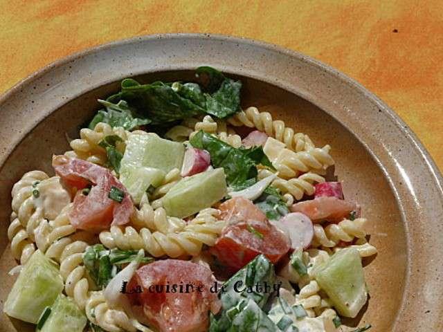 Les meilleures recettes de salades et p tes for Entree crudite originale