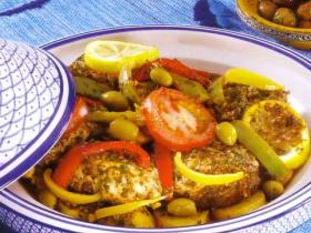 Recettes de tajine de poisson 3 - Cuisine tunisienne poisson ...