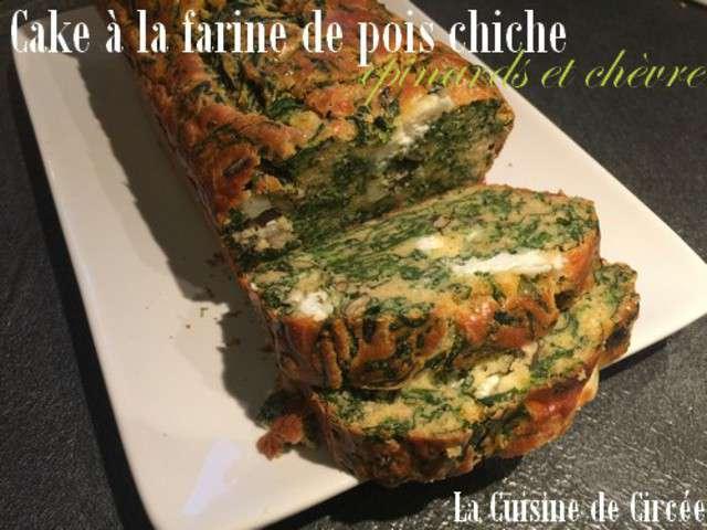 Cake Aux Epinard Chevre