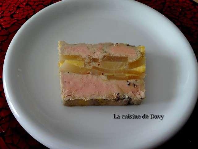 Recettes de foie gras aux poires et terrines - Recette terrine foie gras ...