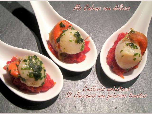 Recettes d 39 ap ro dinatoire - Cuisine noix de st jacques ...