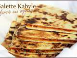Galette kabyle farcie