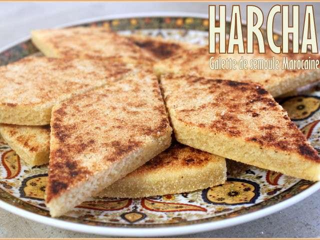 Harcha (Galette de semoule marocaine), facile : recette sur Cuisine Actuelle