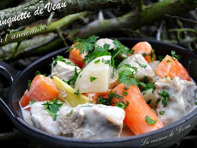 Recettes de veau de la cuisine de doria - Cuisine blanquette de veau ...