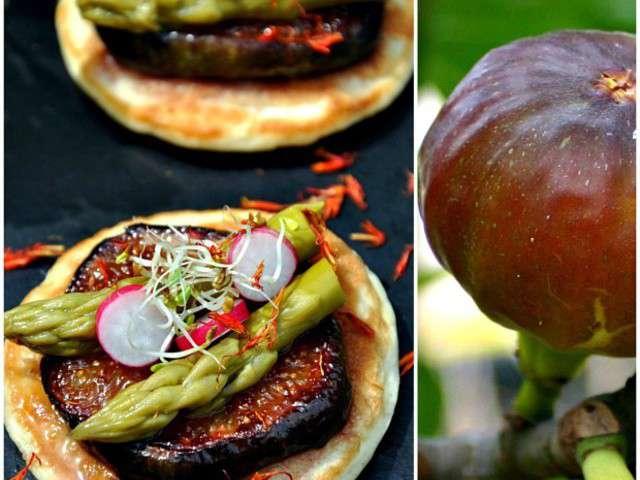 Blinis avec figues du jardin pour un apero original et for Video cuisine rapide