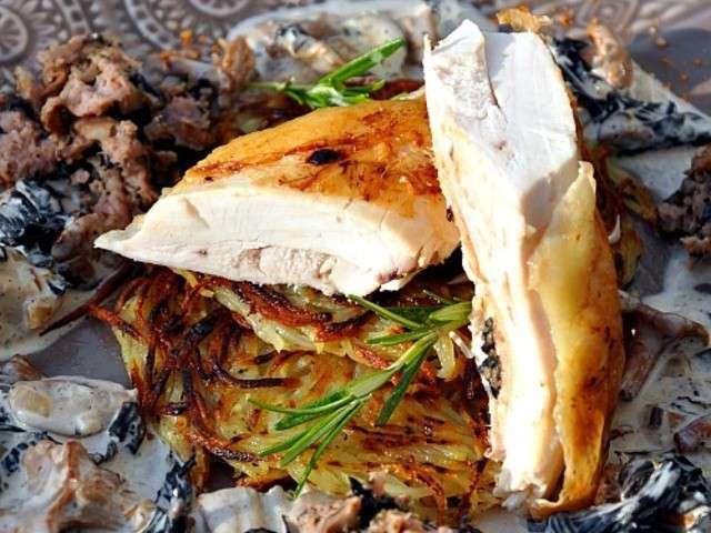 Les meilleures recettes de chapon 2 - Cuisiner un chapon au four ...