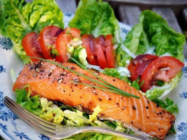 Les meilleures recettes de salades et saumon 24 for Eliminer les vers des salades