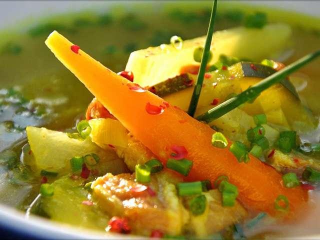 Recettes de Soupe paysanne de La cuisine de Doria