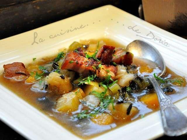 Recettes de soupe paysanne de la cuisine de doria - La cuisine de corinne ...