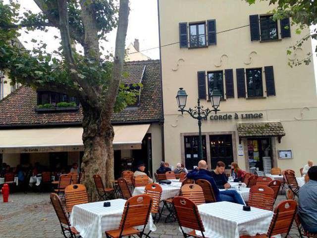 Corde A Linge Strasbourg Restaurant