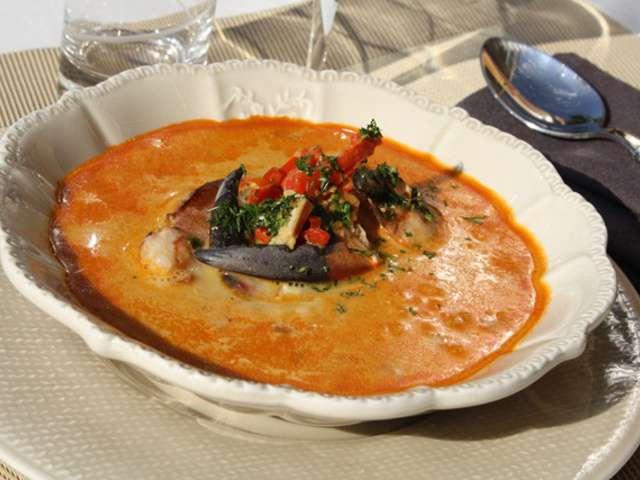 Les meilleures recettes de crabe et lait - Cuisine soupe de poisson ...